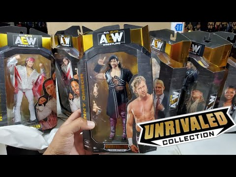 AEW UNREVIAL COLLECTION FREE FIGURE GIVEAWAY & UNBOXING