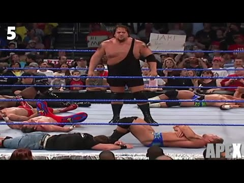WWE High 10 One vs All Moments of all Time