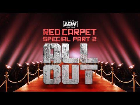 AEW All Out Crimson Carpet Piece Two |  09/05/20 Jacksonville, Fl