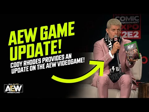 Cody Rhodes affords an update on the AEW Videogame! (AEW Sport Recordsdata)