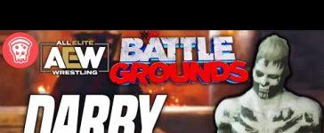 AEW Wrestler Darby Allin in WWE 2K Battlegrounds
