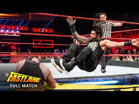 FULL MATCH – Roman Reigns vs. Braun Strowman: WWE Fastlane 2017