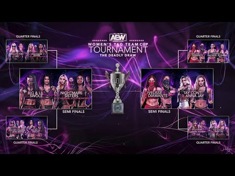 AEW Females's Impress Team Cup Tournament: The Deadly Blueprint Night 3 Semi Finals | 8/17/20
