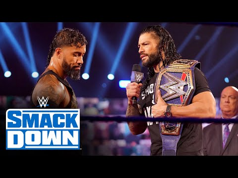 Roman Reigns' Tribal Chief ceremony draws out Jey Uso and AJ Styles: SmackDown, Oct. 2, 2020