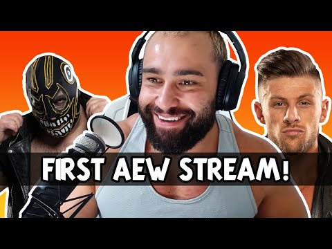 Miro's first Twitch lumber with AEW Wrestlers!