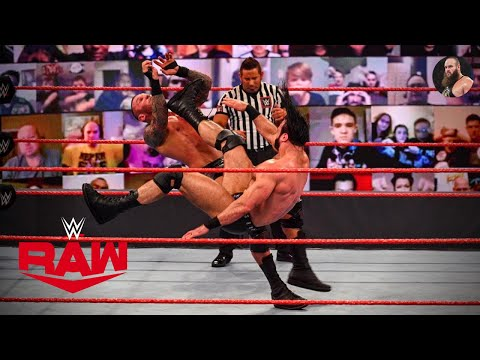 Drew McIntyre vs. Randy Orton : WWE Championship Match Highlights   WWE Uncooked 16 November 2020