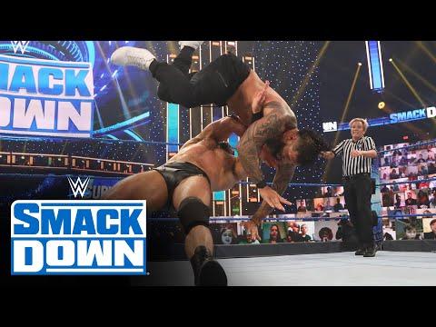 Drew McIntyre vs. Jey Uso – Unsanctioned Match: SmackDown, Nov. 13, 2020