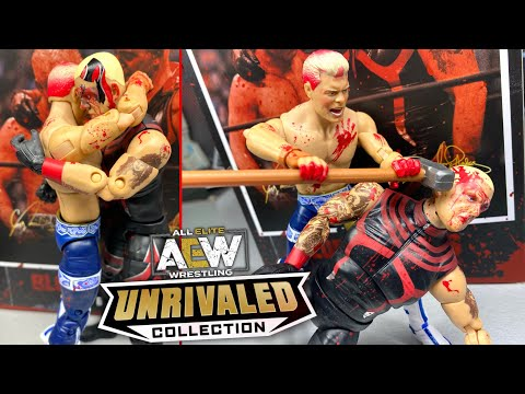 AEW BLOOD BROTHERS 2-PACK UNRIVALED FIGURE REVIEW! RINGSIDE EXCLUSIVE!
