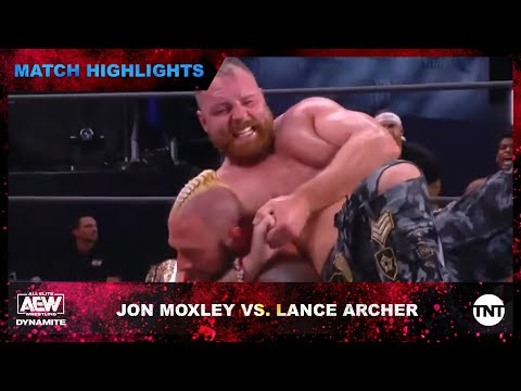 Jon Moxley and Lance Archer Brawl in Fable AEW World Championship Match on AEW Dynamite