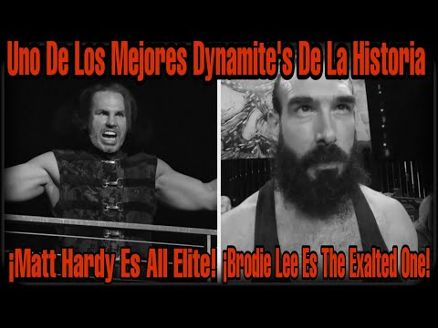 Análisis – AEW Dynamite 18 De Marzo de 2020 – DeKuja – Uno De Los Mejores Dynamite's De La Historia
