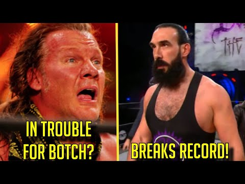 Chris Jericho's BOTCH On AEW MIGHT GET HIM PUNISHED? Brodie Lee BREAKS RECORD! Triple H PRAISES Well-known particular person