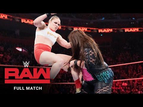 FULL MATCH – Ronda Rousey & Natalya vs. Nia Jax & Tamina: Raw, Dec. 31, 2018
