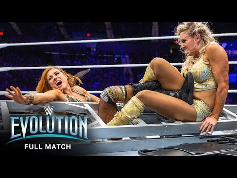 FULL MATCH: Becky Lynch vs. Charlotte Aptitude – SmackDown Ladies folks's Title Match: WWE Evolution
