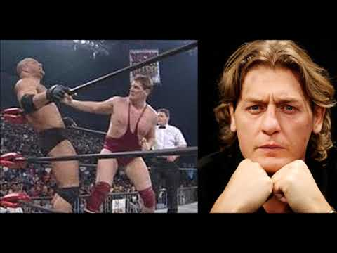 William Regal Shoots on Goldberg in WCW