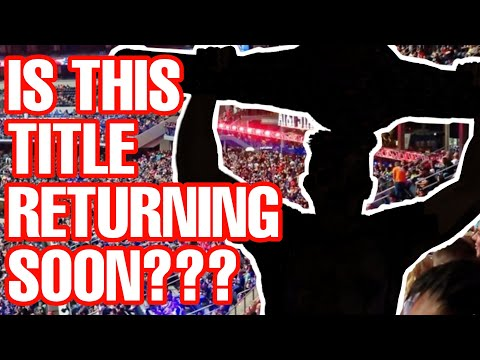 Is This Wrestling Championship Returning Soon??? WWE / AEW News & Rumors