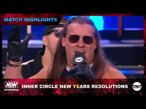 Interior Circle Broadcasts Their Unique Year's Resolution on AEW Dynamite