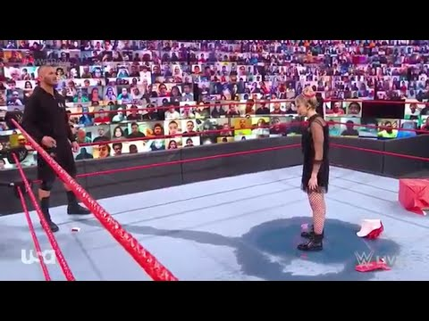 Alexa Bliss challenged Randy Orton to burn her | WWE Uncooked, Dec. 28, 2020