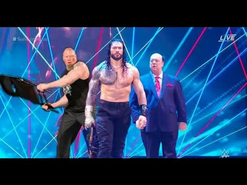 WWE 3 December 2020 Brock Lesnar and Paul Heyman Destroyed Roman Reigns for Universal Title