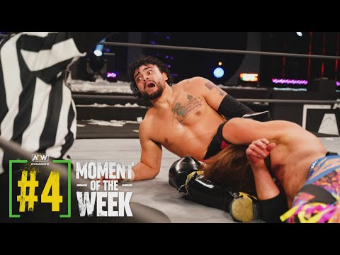 Did Santana and Ortiz Have the AEW World Trace Group Championships? | AEW Dynamite