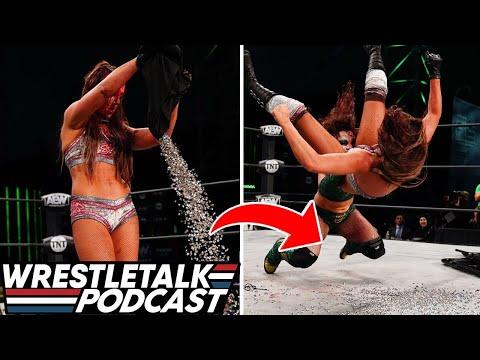 INSANE Britt Baker Vs. Express Rosa Match! AEW Dynamite March 17 2021 | WrestleTalk Podcast