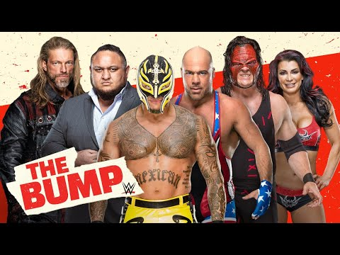 Rey Mysterio, Kurt Angle, Kane and Victoria instruments up for WrestleMania: WWE's The Bump, March 24, 2021