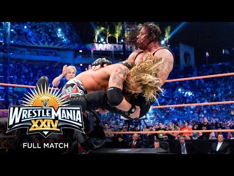 FULL MATCH – Edge vs. The Undertaker – World Heavyweight Championship Match: WrestleMania XXIV