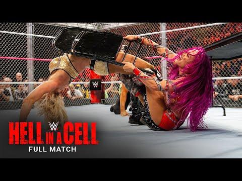 FULL MATCH – Sasha Banks vs. Charlotte – Raw Females's Title Hell in a Cell Match: Hell in a Cell 2016