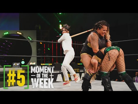 Tay Conti and Nyla Rose Shuffle to War | AEW Dynamite, 3/24/21