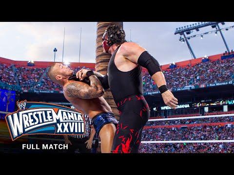 FULL MATCH – Randy Orton vs. Kane: WrestleMania XXVIII