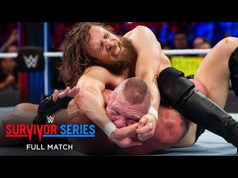 FULL MATCH – Brock Lesnar vs. Daniel Bryan – Champion vs. Champion Match: Survivor Series 2018