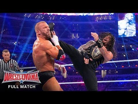 FULL MATCH – Triple H vs. Roman Reigns – WWE World Heavyweight Title Match: WrestleMania 32