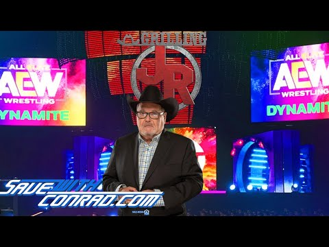 Jim Ross shoots on why he would not focus on about AEW on this prove