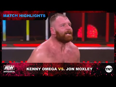 Kenny Omega and Jon Moxley Face Off In a 6 Man Imprint Match on AEW Dynamite