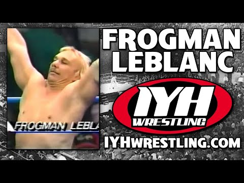 "Wrestling shoot interview  with ""Stone Chilly"" Steve Austin's first opponent FROGMAN LEBLANC"