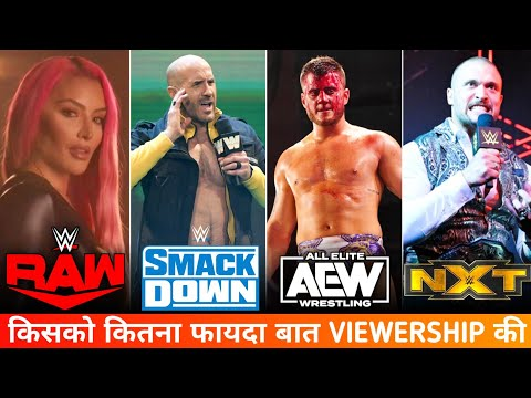 WWE This Week All Reveals Viewership – Raw, Smackdown, Affect, NXT & AEW Dynamite