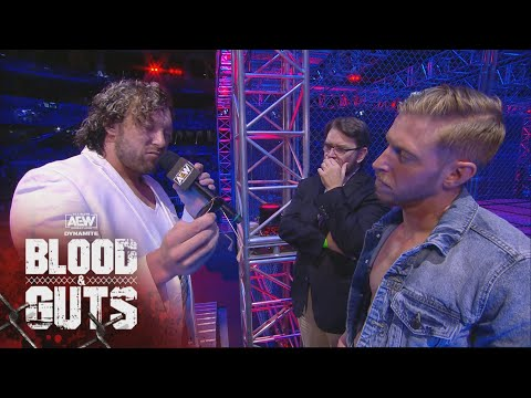 The AEW Champion Kenny Omega and Orange Cassidy Near Face to Face | AEW Blood & Guts, 5/5/21