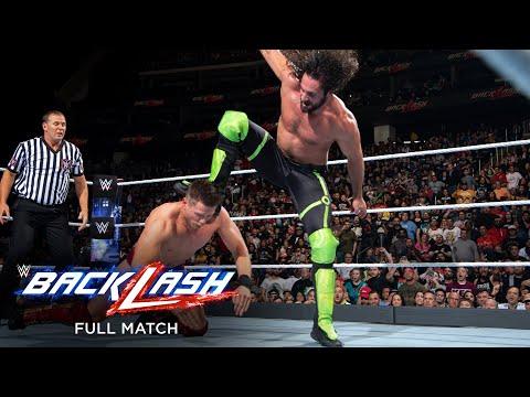 FULL MATCH – Seth Rollins vs. The Miz – Intercontinental Title Match: Backlash 2018