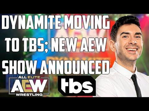 AEW Dynamite MOVING to TBS   AEW Rampage DEBUTING on Fridays   Main money for AEW?   Tony Khan TALK