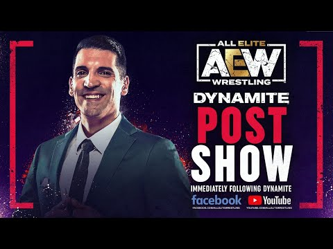 AEW Dynamite Post-Point out   05/19/21