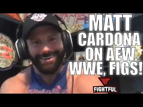 Matt Cardona On AEW, WWE Open, Wrestling Figures, Retromania | Shoot Interview Zack Ryder