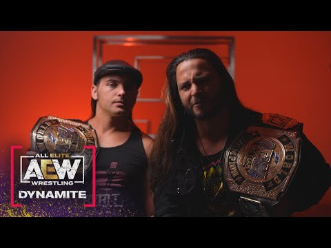 The Younger Bucks Show Why They Did What They Did…..  AEW Dynamite, 4/14/21