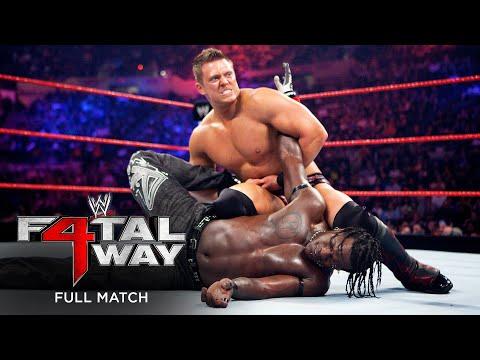 FULL MATCH – The Miz vs. R-Truth – United States Championship Match: WWE Fatal 4-Capability