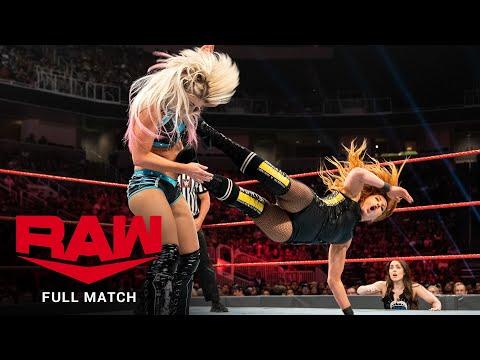 FULL MATCH – Becky Lynch & Bayley vs. Alexa Bliss & Lacey Evans: Raw, June 10, 2019