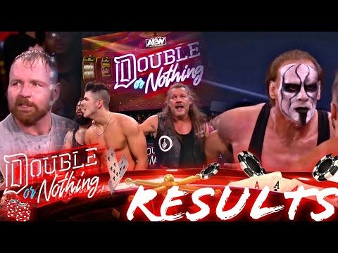 AEW Double Or Nothing 2021 Plump Results