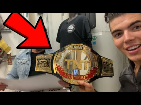 AEW Dreary the curtain at Dynamite Vlog (TNT Champion?!) – Vlog 318
