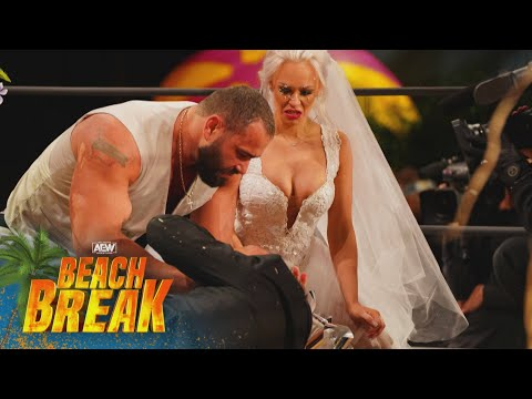 What in he World Did We Right Sign? Turned into this the Craziest Marriage ceremony Ever | AEW Beach Ruin