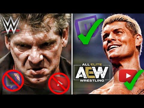 5 cosas PROHIBIDAS en WWE pero PERMITIDAS en AEW