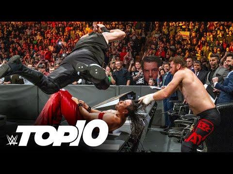 Notice teams breaking tables: WWE Prime 10, June 6, 2021