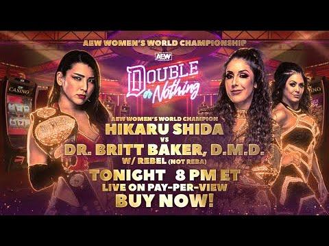 Particular Ogle: AEW Ladies folks's World Championship Hikaru Shida (c) vs Britt Baker | LIVE! Tonight on PPV