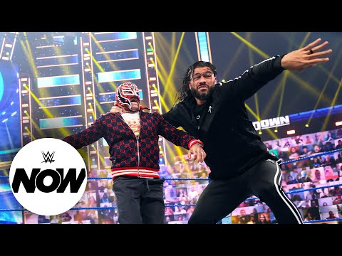 Roman Reigns and Rey Mysterio bring Hell in a Cell fight to SmackDown: WWE Now, June 18, 2021